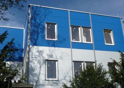 Rekonstrukce fasády z Boletických panelů
