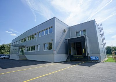 Výrobní hala Turnov